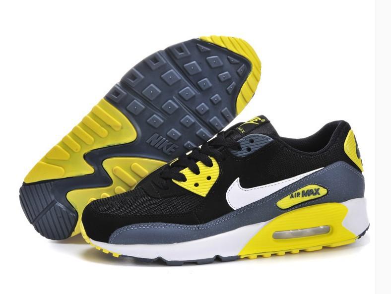 nike air max 90 noir et jaune