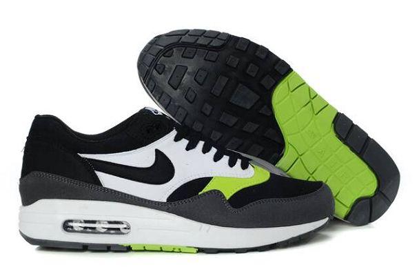 Iwprf2 Nike Air Max 1 Homme Chaussures De Course Noir Anthracite Volt