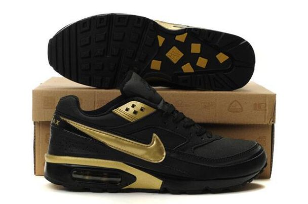air max 90 noir et or