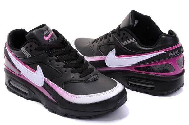 air max bw noir et rose
