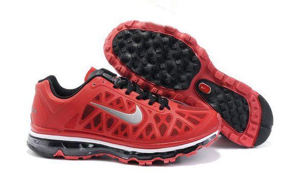 half off b8e7d 7304a Pas Cher Chaussures Nike Air Max 2011 Rouge Noir Hommes  buy38ea0049  -  €78.87   Nike air max chaussure, air max nike femme