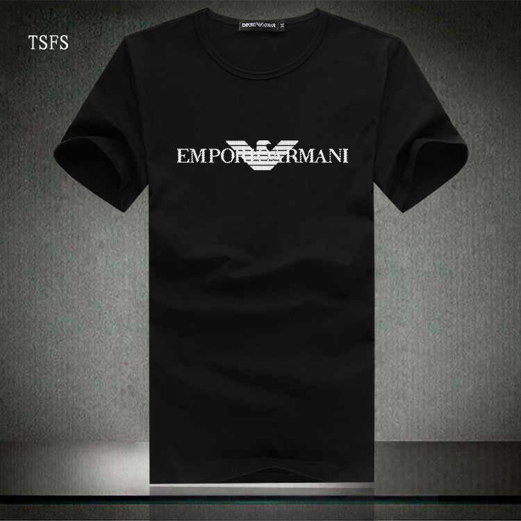 armani mania tee shirt armani homme vetement marque pas cher. Black Bedroom Furniture Sets. Home Design Ideas