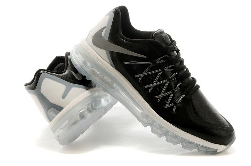 Qualité supérieure Nike air max 2015 noir et blanche 0JY26