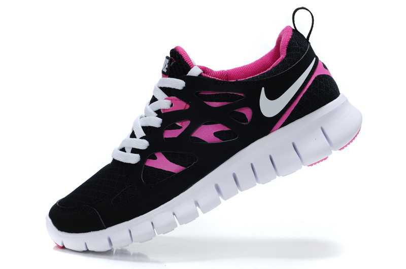 chaussures nike free nike pour femme nike free run 2 noir. Black Bedroom Furniture Sets. Home Design Ideas