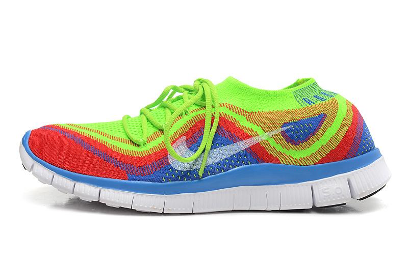chaussures running nike free 5.0 femme bleu ciel