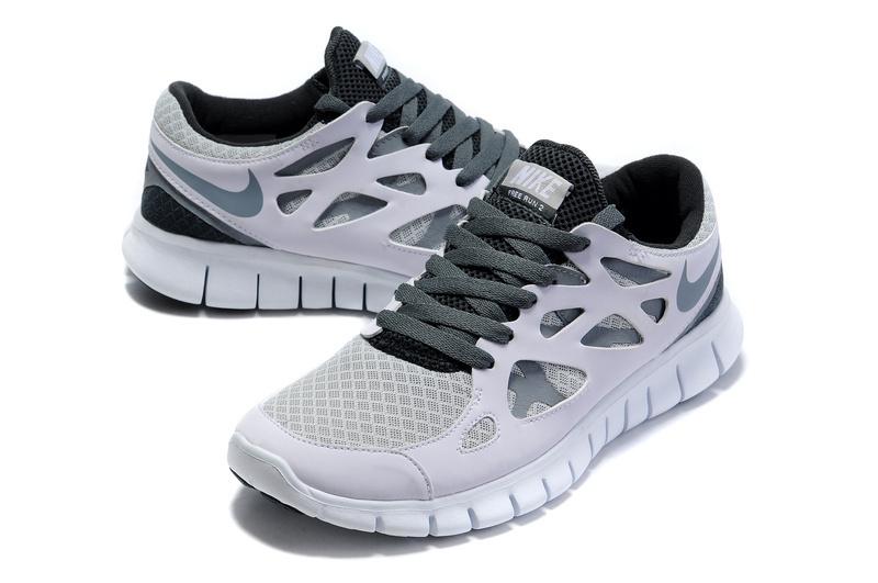 Nike Free Run 2 Homme Noir Et Blanc