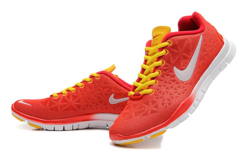 chaussures running nike free 5.0 femme jaune