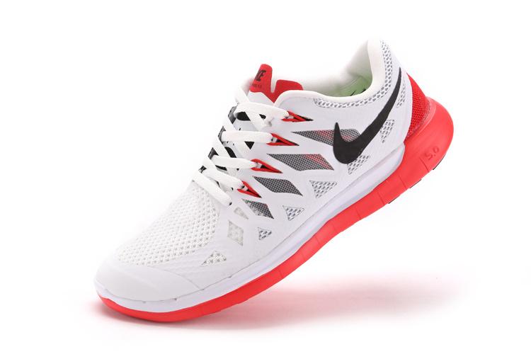 Nike Free 5.0 Blanc