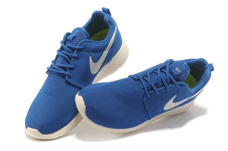 Nike Roshe Run Bleu Marine Soldes