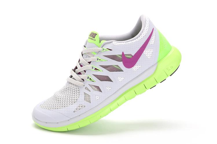 chaussures running nike free 5.0 femme rose
