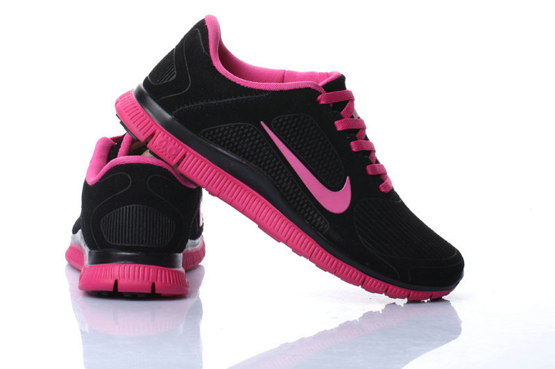 nike running free run  baskets noir