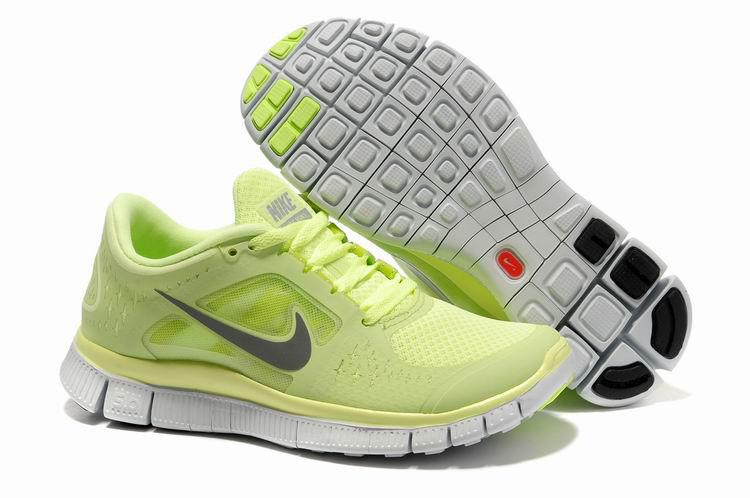 Nike Free 5.0 Jaune Femme