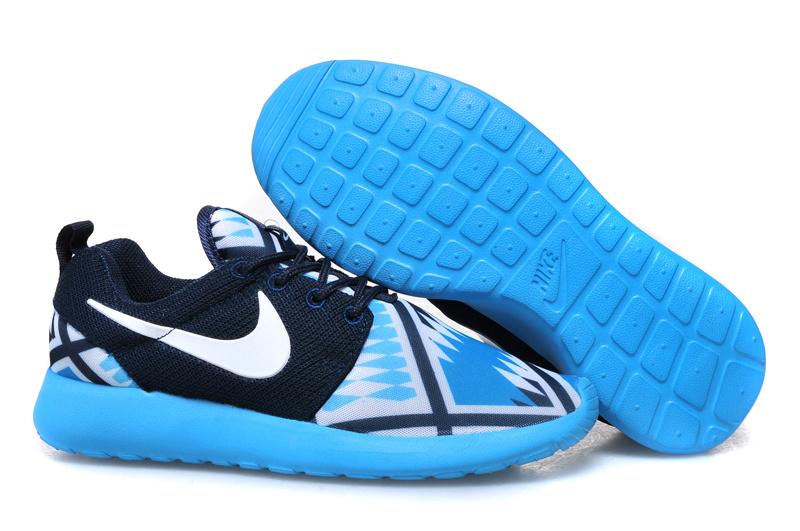 nike free chaussures nike pas cher, Nike Roshe Run Bleu